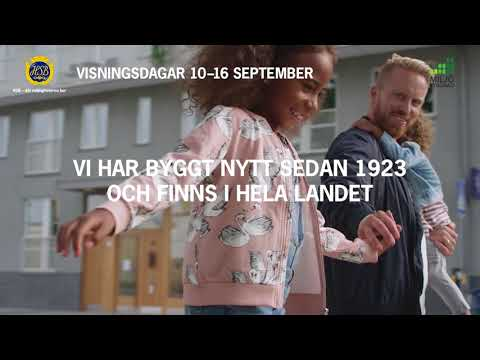 HSBs visningsdagar 10–16 september