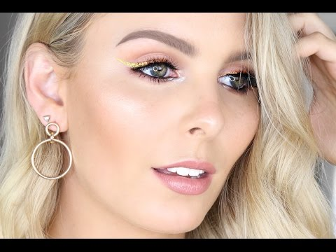 METALLIC WINGED LINER | NEW YEAR'S EVE / HOLIDAY GLAM MAKEUP TUTORIAL | RACHAEL BROOK