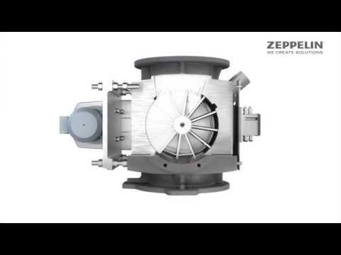 Zeppelin Zellenradschleuse