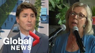 Trudeau, May react to Elections Canada warning climate change may be 'partisan' issue