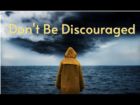 Don't Be Discouraged,,,,,,God's Got You!