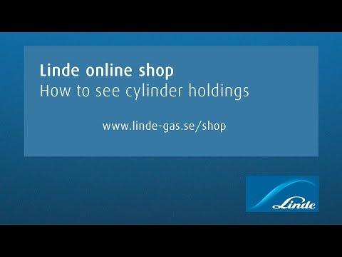 AGA online shop: How to see cylinder holdings