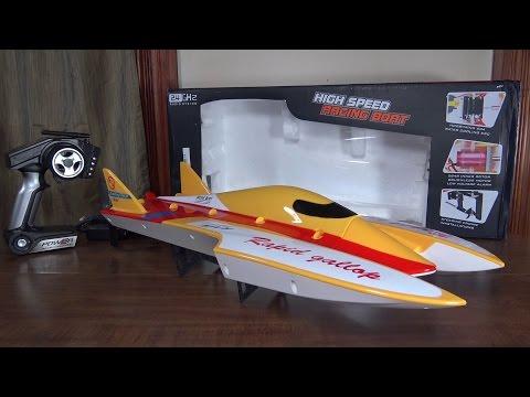 WLtoys - WL913 Speed Boat - Review and Run - UCe7miXM-dRJs9nqaJ_7-Qww