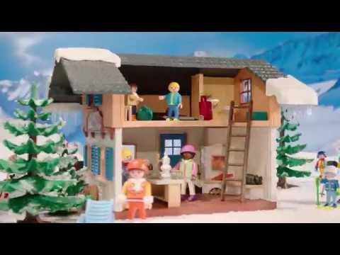 PLAYMOBIL presenteert de wintersportvakantie met de hele familie! (België)