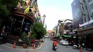 SECOND ROAD TO PATTAYALAND, SOI 13/3 & SOI 13/4, PATTAYA THAILAND, July 2019