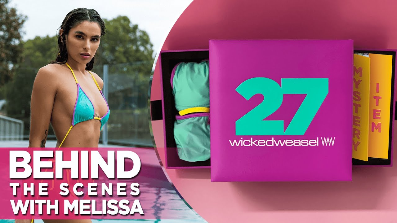 Melissa Wears Sexy Sheer Ft. The Wicked Weasel 27th Anniversary Collector's Box