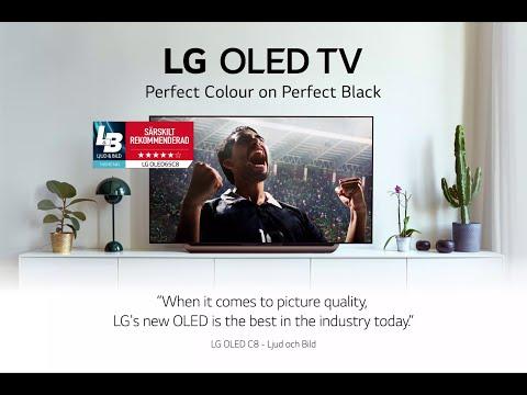 L&B reviews LG OLED 2018 C8