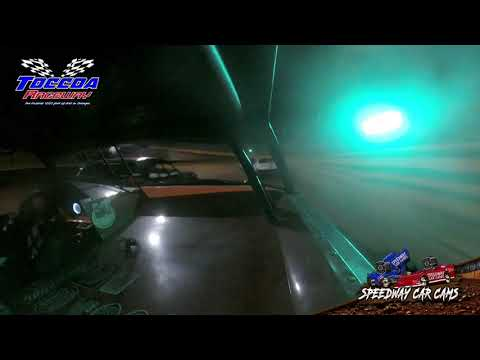 #4 Stephen House - Stock 8 - 10-23-21 Toccoa Raceway - In-Car Camera - dirt track racing video image