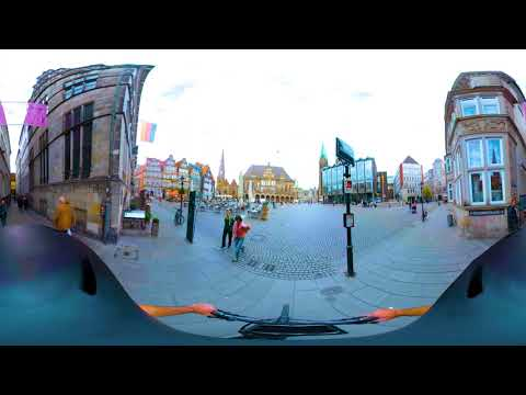 German Cities by bike