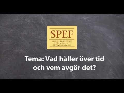 SPEF  Fasaddagarna Stockholm Moderna muséet 22 november 2018