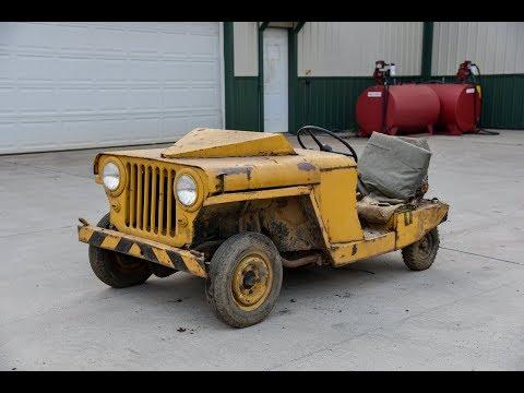 Rare Jet-Starting Jeep Walkaround