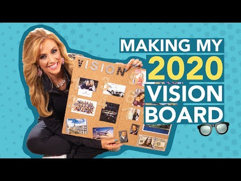 Making My 2020 Vision Board
