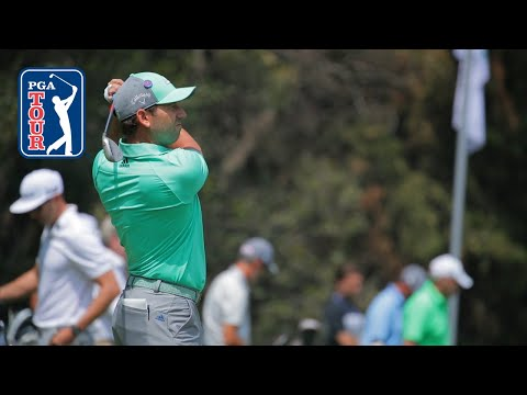 Sergio Garcia's pre-round warm-up routine