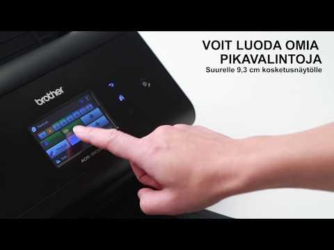 ADS-3600W Nopea langaton väriskanneri | Tuotevideo | Brother