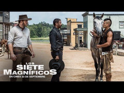 LOS 7 MAGN�FICOS. Denzel Washington es Sam Chisolm. En cines 23 de septiembre.