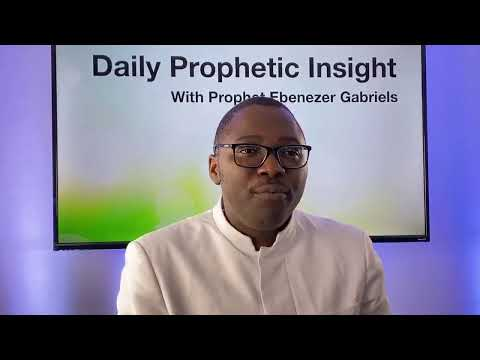 PROPHETIC INSIGHTS Jan 4th, 2020