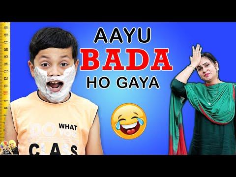 AAYU BADA HO GAYA   Moral Story for kids in Hindi #GoodHabits   Aayu and Pihu Show