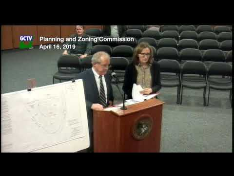 Planning & Zoning Commission, April 16, 2019
