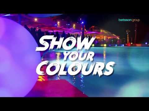 Show Your Colours - Betsson Group Summer Party Malta