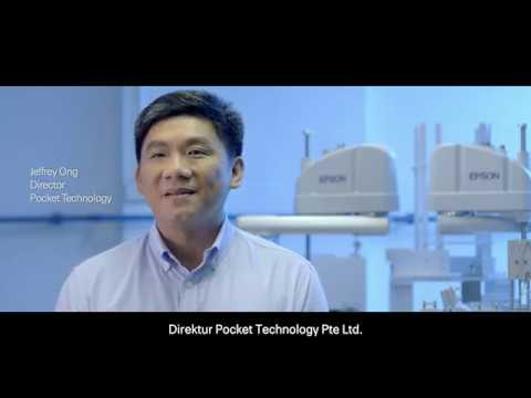 Epson Robots Customer Story: Pocket Technology (Bahasa subs)