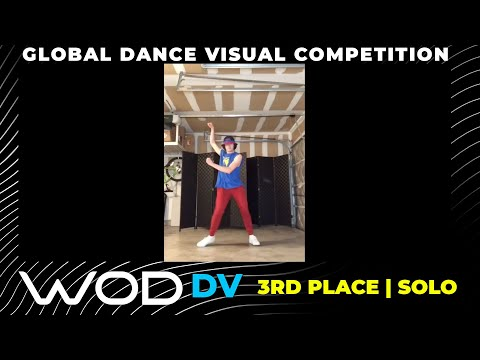 Matthew Kennedy | 3rd Place |  Solo Category | Global Dance Visual Competition|#lacuriosidadchallege