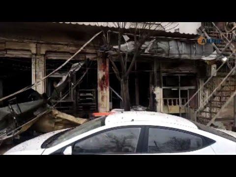 مقتل 7 مدنيين على الأقل في تفجير انتحاري في مدينة منبج السورية