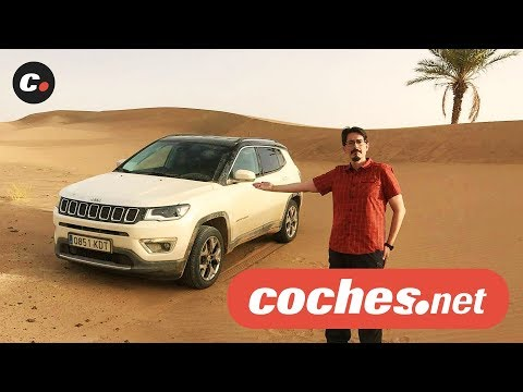 Jeep Compass 2018 SUV | Prueba en Marruecos / Test / Review en español |  coches.net
