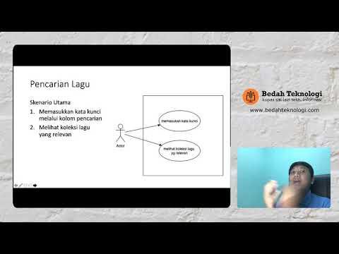 Cara Mudah Membuat Use Case (UML)