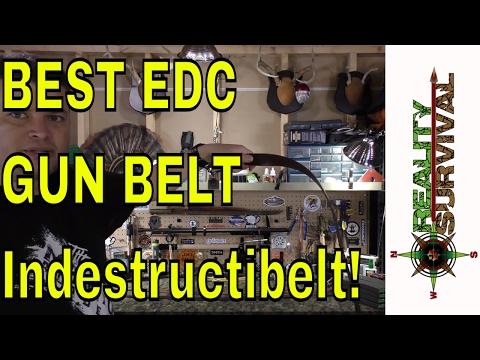 Best EDC Gun Belt! The Indestructibelt