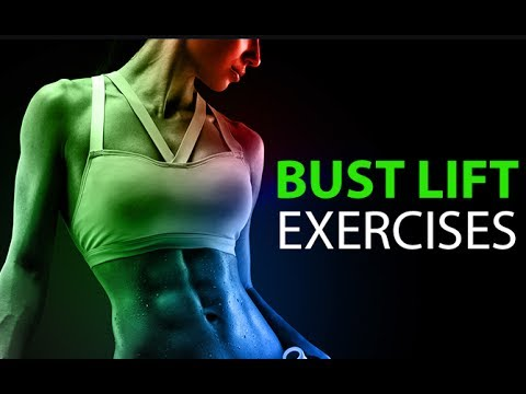 How To Lift Your Bust (4 BEST BREAST LIFT EXERCISES!!)