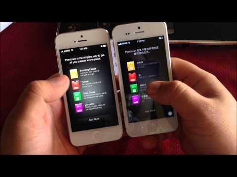 Goophone i5 16GB - podróbka iPhone'a 5