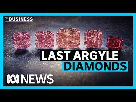 Last Argyle pink diamonds going on sale by Rio Tinto | The Business | ABC News