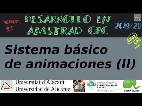Sistema básico de animaciones (II) [#ASM #Z80]