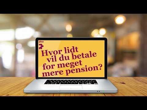 Vil du vide, hvordan du får meget mere i pension?
