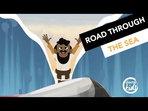 ChurchKids: Road through the sea