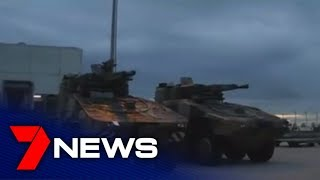 Deputy PM vists Wide Bay to anounce funding for defence   7NEWS