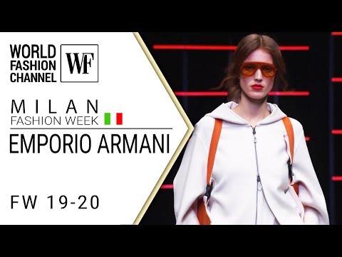 Emporio Armani Fall-winter 19-20 Milan fashion week