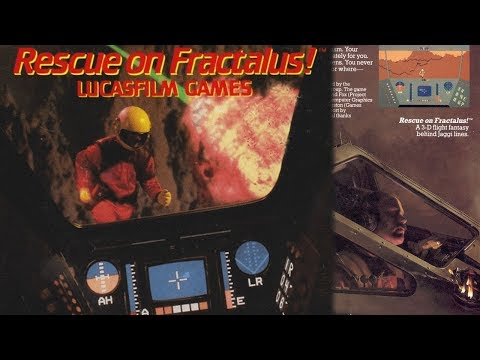 Bola Extra - Rescue on Fractalus , vive la auténtica aventura en 8 bits.