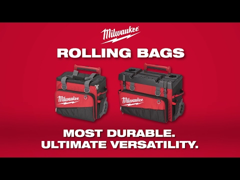 "Milwaukee® 18"" and 24"" Rolling Bags"