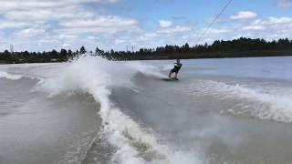 Championnat de France de wakeboard bateau à Cabanac