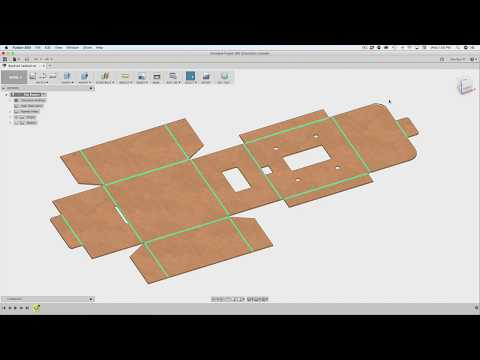 Fusion 360 Tutorial – Foldable Boxes