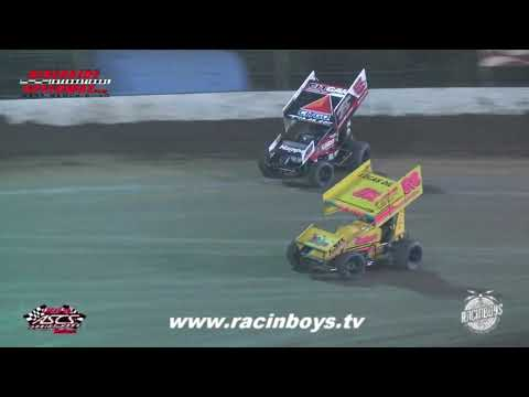 Lucas Oil ASCS Highlights  at Riverside Int  Speedway 7 25 21 - dirt track racing video image
