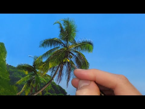 How to paint Palm Trees   Episode 165
