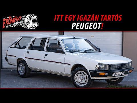 Totalcar Erőmérő: Peugeot 505 Familiale 2.0 1985