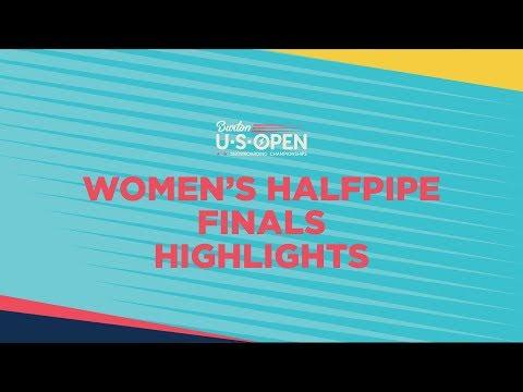 2019 Burton U·S·Open Women?s Halfpipe Finals - Highlights