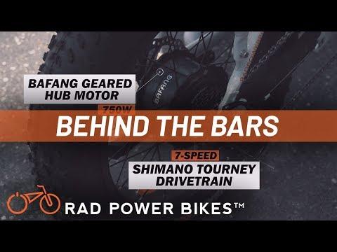 Behind the Bars | RadMini Electric Folding Fat Bike
