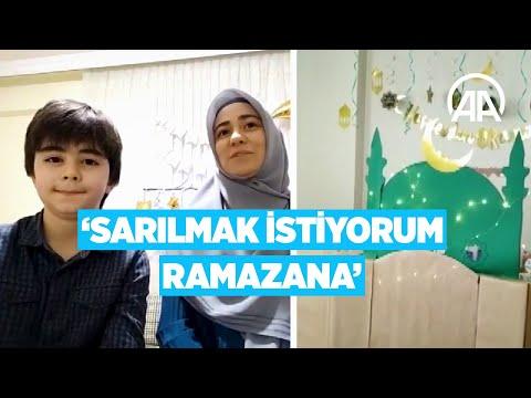 On bir ayın sultanı çocuklarda sevince döndü: Sarılmak istiyorum Ramazana