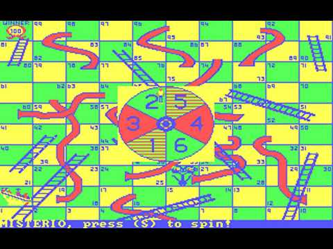 Chutes and Ladders (Dale Hubbard) (MS-DOS) [1988] [PC Longplay]