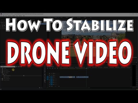 How to Stabilize Drone Video in Adobe Premiere  | Yuneec Breeze  - UCnJyFn_66GMfAbz1AW9MqbQ