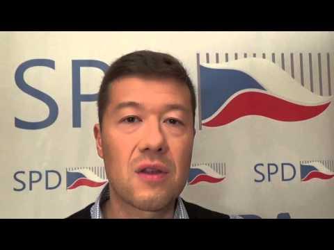 Tomio Okamura: Lidem padají klapky v očích a začínají vítězit realisté